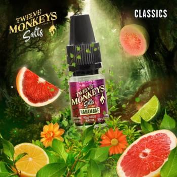 Twelve Monkeys Nikotinsalz - Harambae 10ml 20mg