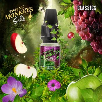 Twelve Monkeys Nikotinsalz - Matata 10ml 20mg