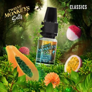 Twelve Monkeys Nikotinsalz - Tropica 10ml 20mg