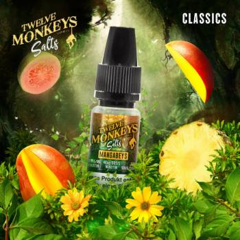Twelve Monkeys Nikotinsalz - Mangabeys 10ml 20mg